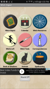 Witch Digest Android App