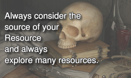 Source Of Your Resources