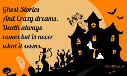 Ghosts Stories and Crazy Dreams