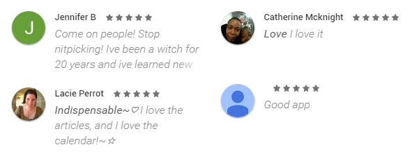 Witch Digest Android App Review on Google Play