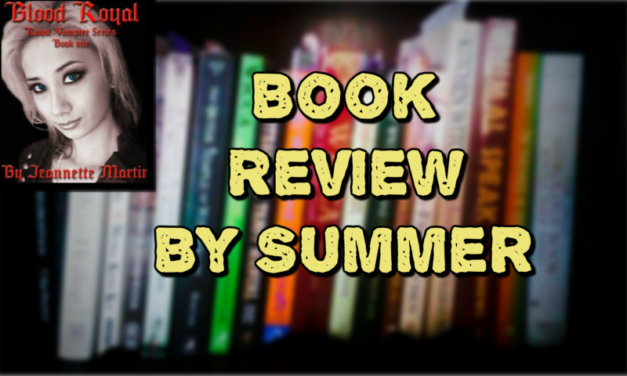 Book Review of Jeannette Martin's Blood Royal