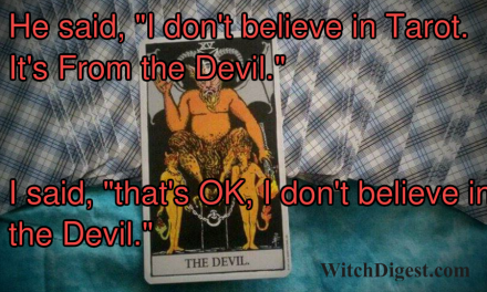 Belief Tarot and the Devil