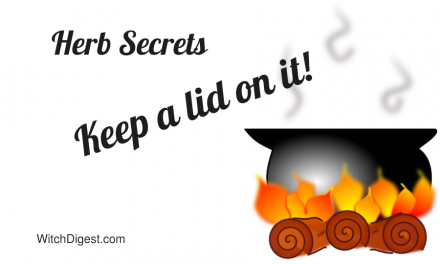 Herb Secrets Keep A Lid On It