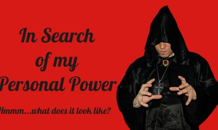 In Search of my Personal Power