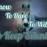 To Know, To Dare, To Will, To Keep Silent In The Craft