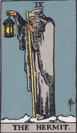 Hermit-Tarot-Card